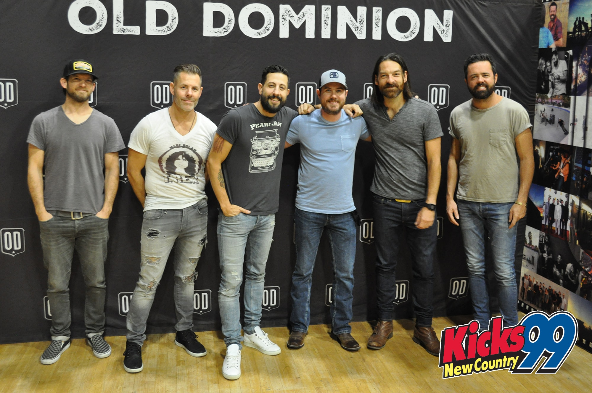 Old Dominion Sound Check Party Meet Greet