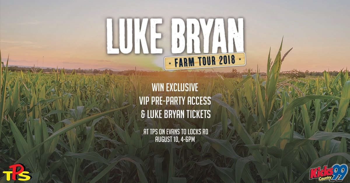 Score VIP Access To The Kicks 99 Pre Party Tix See Luke Bryan