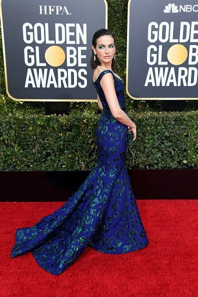 BEVERLY HILLS, CA - JANUARY 06:  Camilla Belle attends the 76th Annual Golden Globe Awards at The Beverly Hilton Hotel on January 6, 2019 in Beverly Hills, California.  (Photo by Jon Kopaloff/Getty Images)