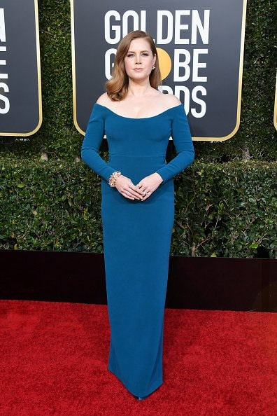 BEVERLY HILLS, CA - JANUARY 06:  Amy Adams attends the 76th Annual Golden Globe Awards at The Beverly Hilton Hotel on January 6, 2019 in Beverly Hills, California.  (Photo by Jon Kopaloff/Getty Images)