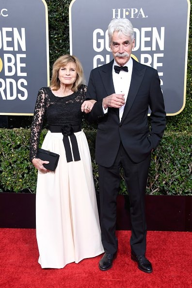 BEVERLY HILLS, CA - JANUARY 06:  Katharine Ross (L) and Sam Elliott attend the 76th Annual Golden Globe Awards at The Beverly Hilton Hotel on January 6, 2019 in Beverly Hills, California.  (Photo by Frazer Harrison/Getty Images)
