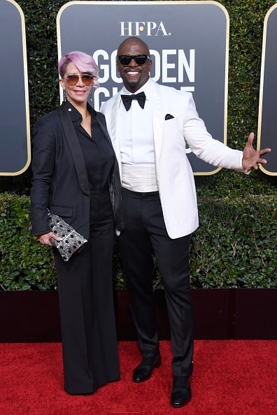 BEVERLY HILLS, CA - JANUARY 06:  Rebecca King-Crews (L) and Terry Crews attend the 76th Annual Golden Globe Awards at The Beverly Hilton Hotel on January 6, 2019 in Beverly Hills, California.  (Photo by Frazer Harrison/Getty Images)