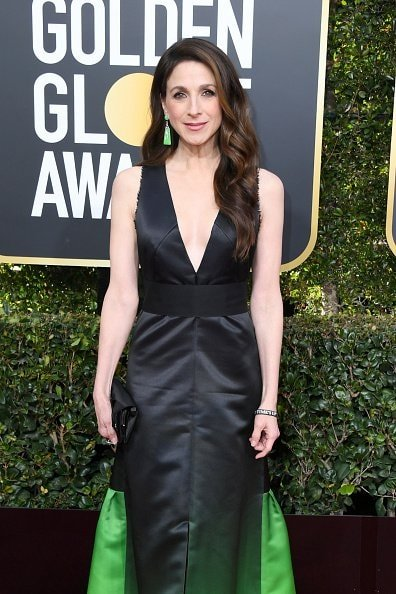 BEVERLY HILLS, CA - JANUARY 06:  Marin Hinkle attends the 76th Annual Golden Globe Awards at The Beverly Hilton Hotel on January 6, 2019 in Beverly Hills, California.  (Photo by Jon Kopaloff/Getty Images)