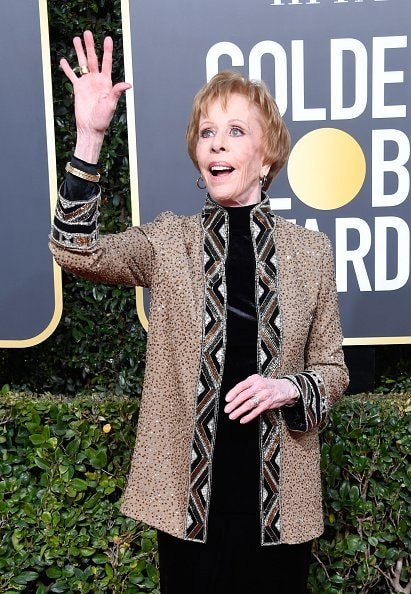 BEVERLY HILLS, CA - JANUARY 06:  Carol Burnett attends the 76th Annual Golden Globe Awards at The Beverly Hilton Hotel on January 6, 2019 in Beverly Hills, California.  (Photo by Frazer Harrison/Getty Images)
