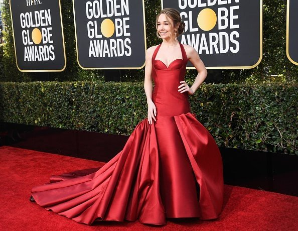 BEVERLY HILLS, CA - JANUARY 06: Holly Taylor attends the 76th Annual Golden Globe Awards at The Beverly Hilton Hotel on January 6, 2019 in Beverly Hills, California.  (Photo by Frazer Harrison/Getty Images)