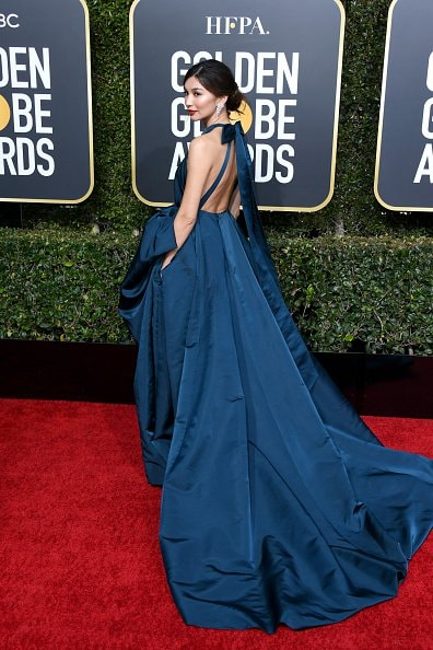 BEVERLY HILLS, CA - JANUARY 06:  Gemma Chan   attends the 76th Annual Golden Globe Awards at The Beverly Hilton Hotel on January 6, 2019 in Beverly Hills, California.  (Photo by Jon Kopaloff/Getty Images)