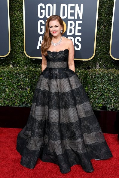 BEVERLY HILLS, CA - JANUARY 06:  Isla Fisher attends the 76th Annual Golden Globe Awards at The Beverly Hilton Hotel on January 6, 2019 in Beverly Hills, California.  (Photo by Jon Kopaloff/Getty Images)