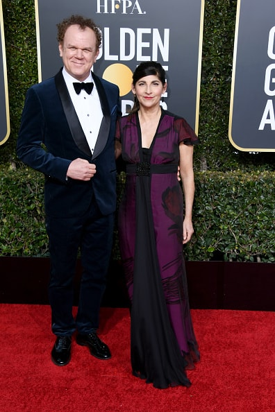 BEVERLY HILLS, CA - JANUARY 06:  John C.Reilly and Alison Dickey attend the 76th Annual Golden Globe Awards at The Beverly Hilton Hotel on January 6, 2019 in Beverly Hills, California.  (Photo by Jon Kopaloff/Getty Images)