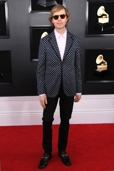 LOS ANGELES, CALIFORNIA - FEBRUARY 10: Beck attends the 61st Annual GRAMMY Awards at Staples Center on February 10, 2019 in Los Angeles, California. (Photo by Jon Kopaloff/Getty Images)