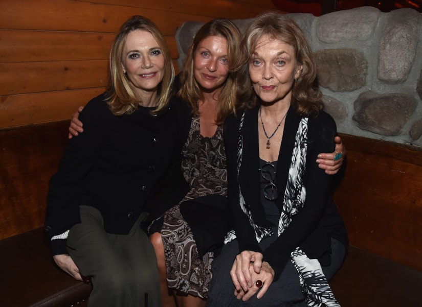 "LOS ANGELES, CA - JULY 16:  Actors Peggy Lipton, Sheryl Lee and Grace Zabriskie attend the after party for The American Film Institute Presents ""Twin Peaks-The Entire Mystery"" Blu-Ray/DVD release at Bigfoot Lodge on July 16, 2014 in Los Angeles, California.  (Photo by Alberto E. Rodriguez/Getty Images)"