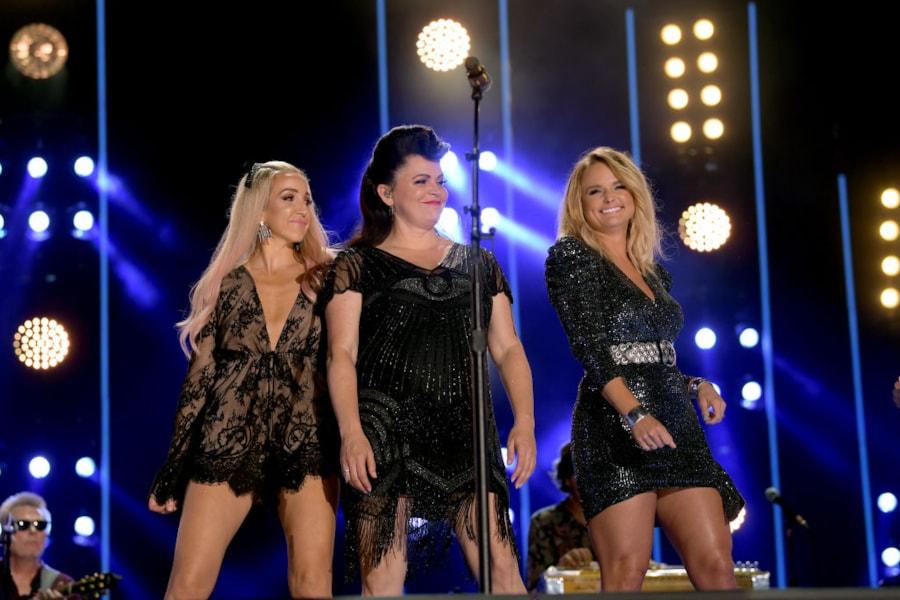 Miranda Lambert and her Pistol Annies on CMA Fest.