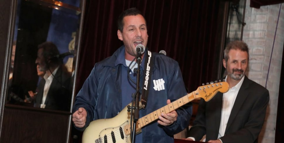 Adam Sandler Performs Taylor Swift's 'Lover' With Daughters