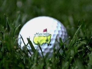 Masters golf ball