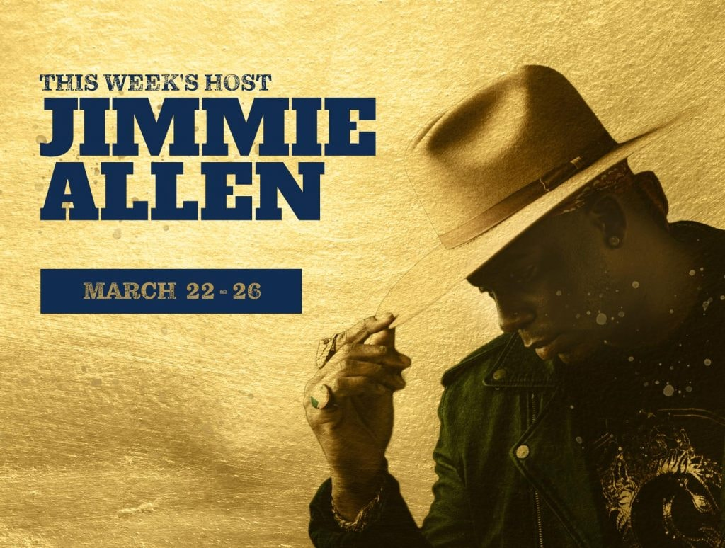 Backstage Country- Jimmie Allen