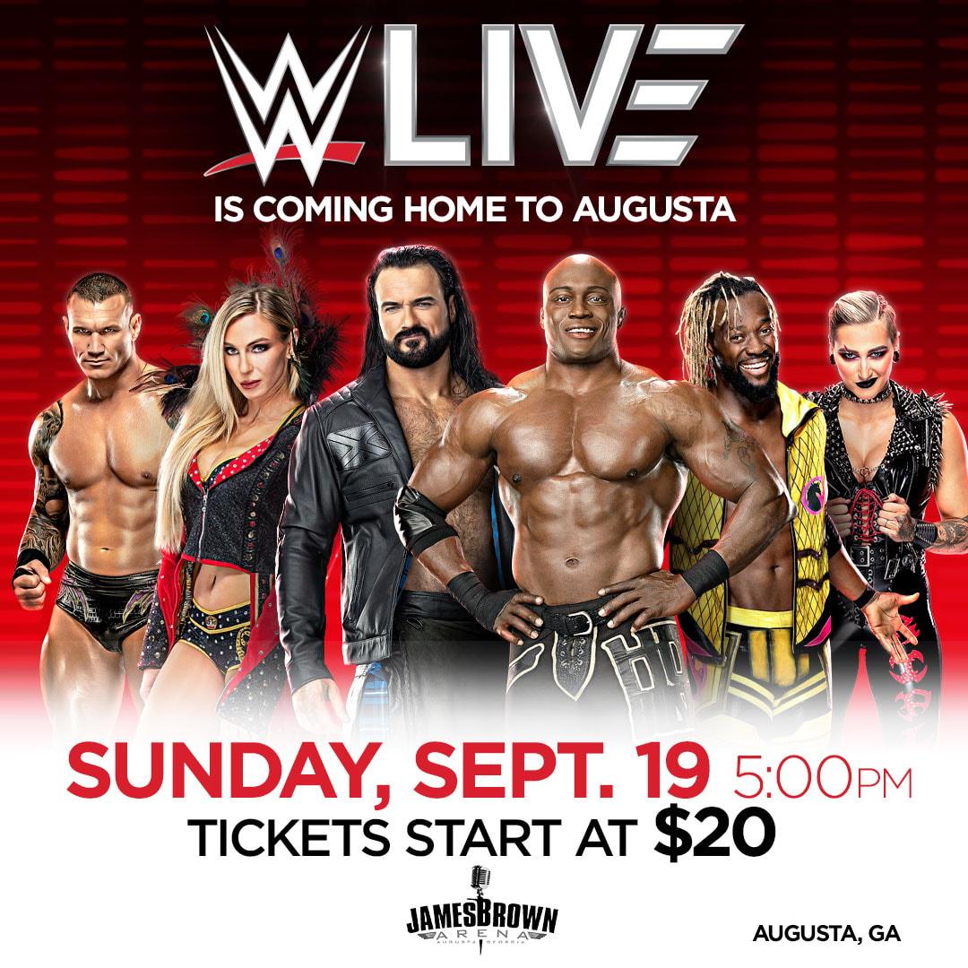 WWE Live Augusta